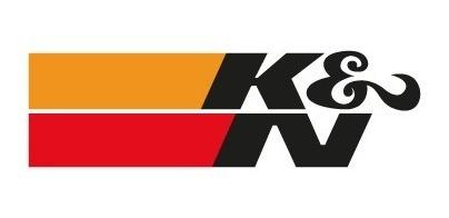 Adesivo K&n Kn K &n Filtro Esportivo Euro Moto Fusca Gol Kn,