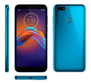 Celular Motorola Moto E6 Play 32gb Azul Metalico 2gb Ram