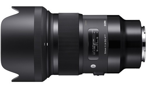 Lente Sigma 50mm F1.4 Art Para Sony E 4 Años Garantía