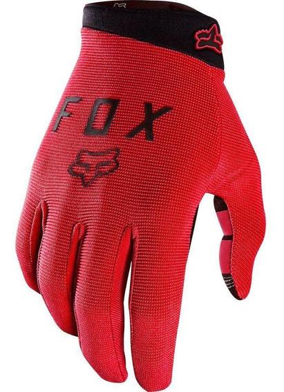 Guantes Bicicleta Ranger Rojo Fox