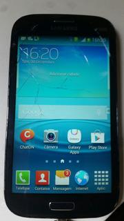 .c Celular Samsung I9082 8gb Defeito Nao Liga Display Ok
