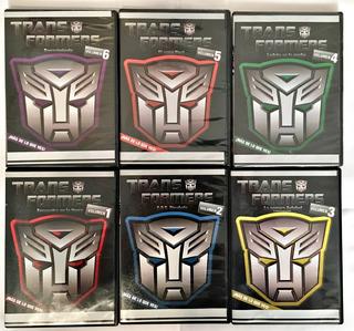 Transformers G1 Coleccion De 6 Volumenes Dvd Español Latino