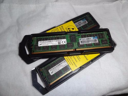 Imagem 1 de 3 de Memória16gb 2rx4 Pc4-2133p-r Pc4-17000r Ddr4 Registrado Serv