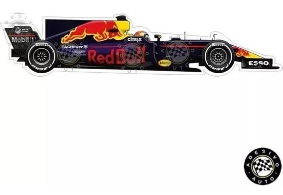 Adesivo Max Verstappen Rbr Rb13 F1 Formula 1 Carros Sticker