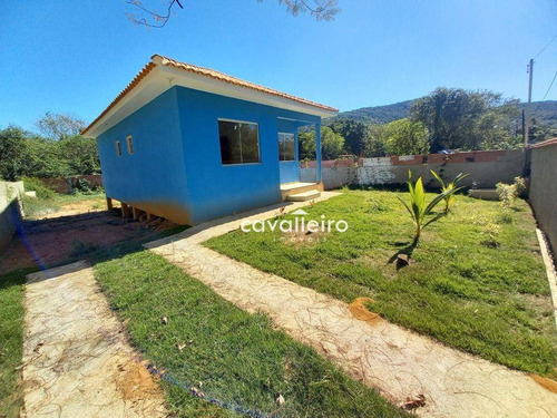 Imagem 1 de 11 de Casa Com 2 Dormitórios À Venda, 75 M² Por - Jacaroá - Maricá/rj - Ca4535