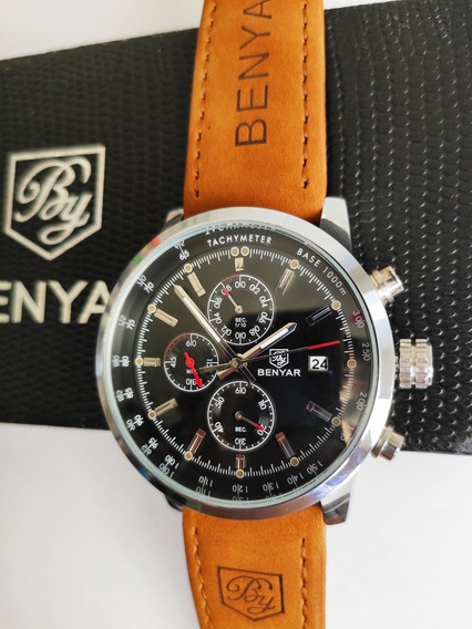 Relógio Masculino Benyar By-5102 Cronógrafo 100% Funcional