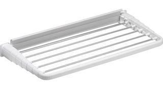 Tender Retractil 60cm Tendedero Pared Plegable Gimi Italiano - Apto Interior Y Exterior - Lluvia Sol