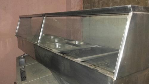 Baño De Maria En Acero Inoxidable, Para 6 Bendejas Grandes