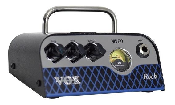 Amplificador Cabeçote Vox Mv 50 Rock Nutube