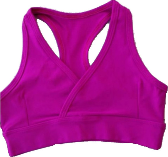 Kit 8 Top Fitness Forrado Suplex Poliamida Academia Revenda