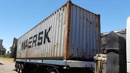 Contenedores Marítimos Containers Usados/ 40' Pies Dv