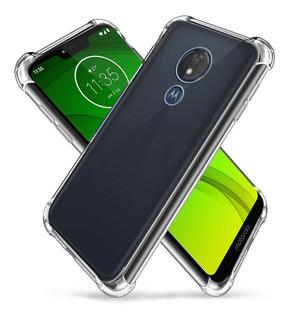 Capa Anti Impacto P/ Motorola Moto G3 G4 G5 G5s G6 G7 Play
