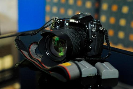 Camara Nikon D300 Con Lente Nikon 18-105mm