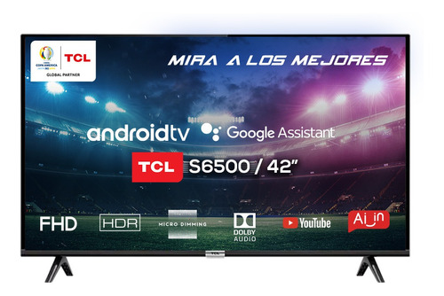 Smart Tv 42 Tcl 42s6500 Android Fhd