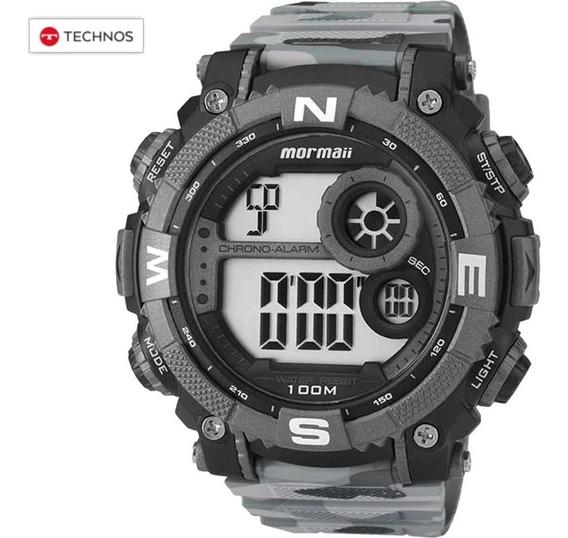Relógio Mormaii Urbano Exército Cinza Technos Original Nfe