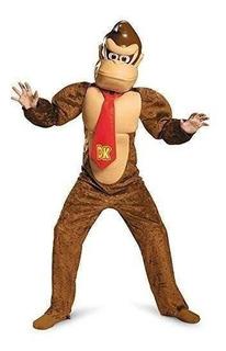 Disfraz Donkey Kong Deluxe Super Mario Bros. De Nintendo De