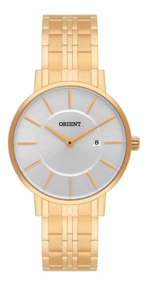 Relógio Orient Feminino Dourado Análogo Fgss1105 S1kx