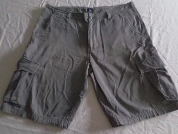 Pantalon Bermuda Gap Talle 36 / 46 Made In Cambodia