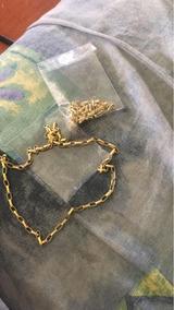 Corrente Cartier Moeda Antiga Banhado A Ouro 18k