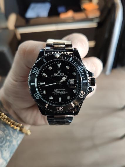 Relógio Submariner Preto Fotos Reais Pronta Entrega