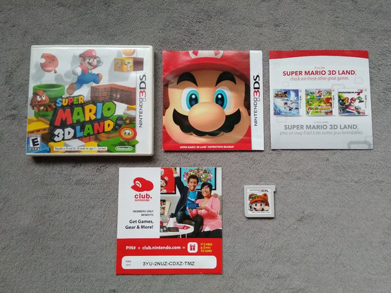 3ds - Super Mario 3d Land, Americano, Original
