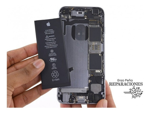 Cambio De Batería iPhone 5 5c 5s Se A Domicilio 10' Original