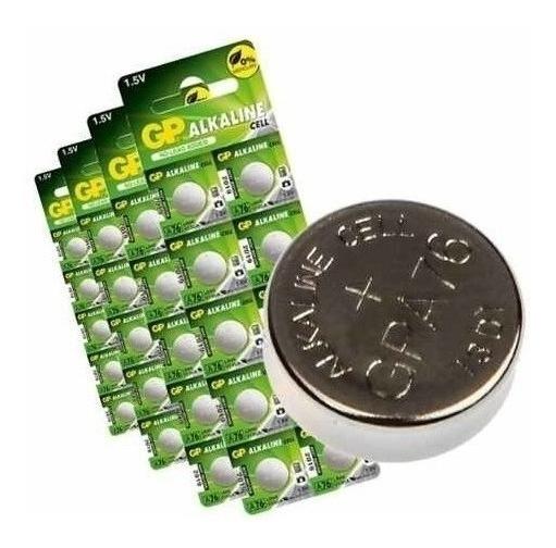 200 Baterias Alcalina A76f Lr44 20 Cartelas Controles