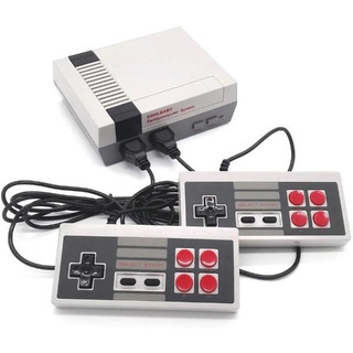 Mini Consola Tipo Family/2 Controles/cable Video /600 Juegos