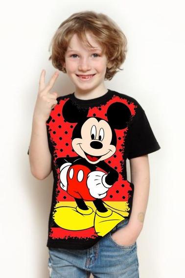 Camiseta Infantil Mickey Mouse Disney