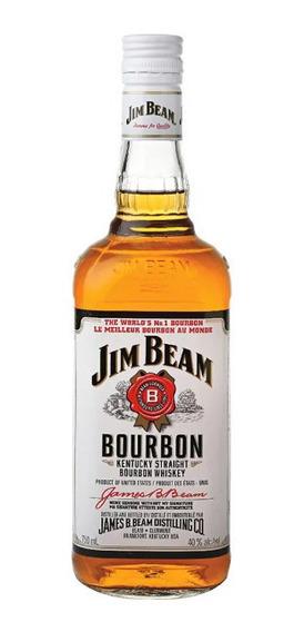Whisky Jim Beam White 750 Cc /bbvinos