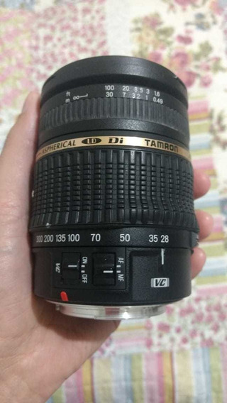Lente Tamron 28-300 3.5 - 6.3 Xr Di Lp P/ Canon Com Defeito