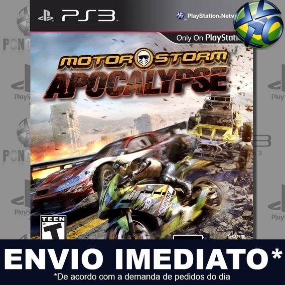 Motorstorm Apocalypse Ps3 Psn Jogo Promoção Pronta Entrega