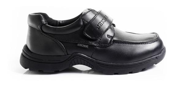 Zapatos Zapatillas Escolares Mocasines Abrojo Marca Arciel