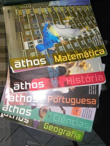 Livros Ftd 9 Ano Matemática - Usado
