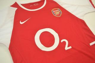 Camisa Arsenal Premier League 2003-04 Henry 14