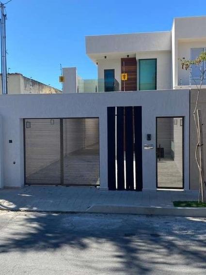 Casa Geminada Com 3 Quartos Para Comprar No Planalto Em Belo Horizonte/mg - 3918