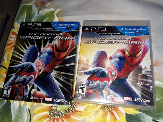 The Amazing Spider Man Sony Ps3 Fisica