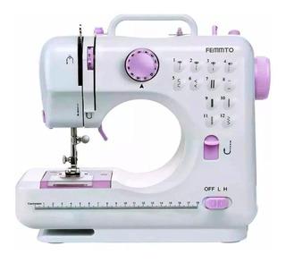Máquina de coser Femmto HLT12 Blanco 220V