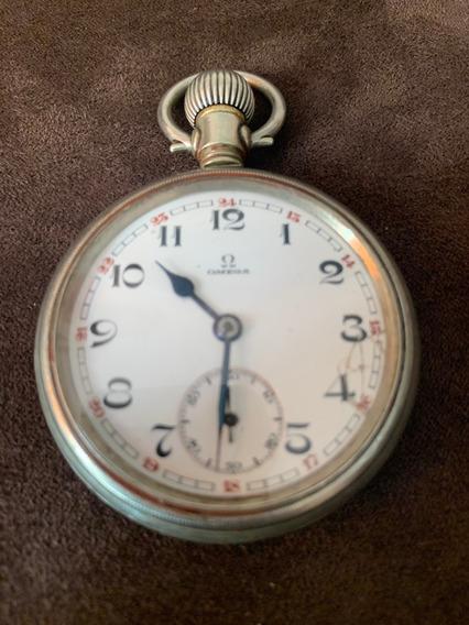Reloj De Bolsillo Omega Ferrocarrilero
