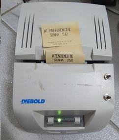 Impressora Térmica Diebold Im402td-200 Dual Rev-10 P/ Senhas