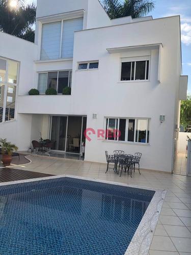 Sobrado À Venda, 500 M² Por R$ 2.350.000,00 - Condomínio Lago Da Boa Vista - Sorocaba/sp - So0126
