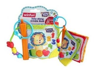 Libro Didáctico Bebé Winfun Libro Didáctico Bebé Win Tk768