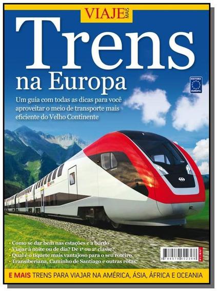 Trens Na Europa - Colecao Especial Viaje Mais 01