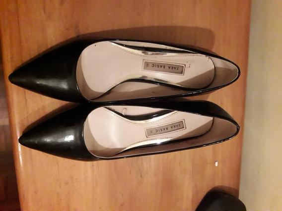Zapatos Zara Stiletto, Talle 40 (pero Van Bien A Un 39).