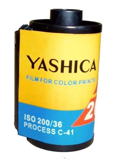 Rollos Fotográficos 35mm A Color 36 Fotos Asa 200