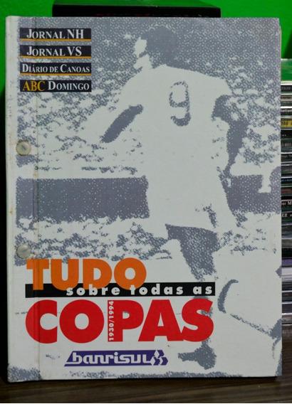 História Das Copas 1930 Até 1994,capa Dura,em Perfeito Estad