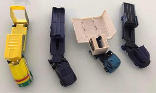 Caminhão Hot Wheels - Lote Com 4 Unidades