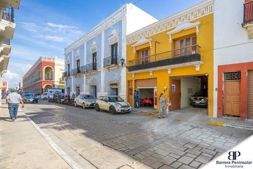 Propiedad Comercial A 150 Metros De La Catedral, Centro Histórico, Campeche