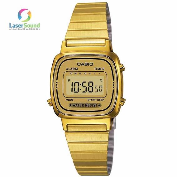 Relógio Casio Feminino Vintage La670wga-9df, C/garantia E Nf