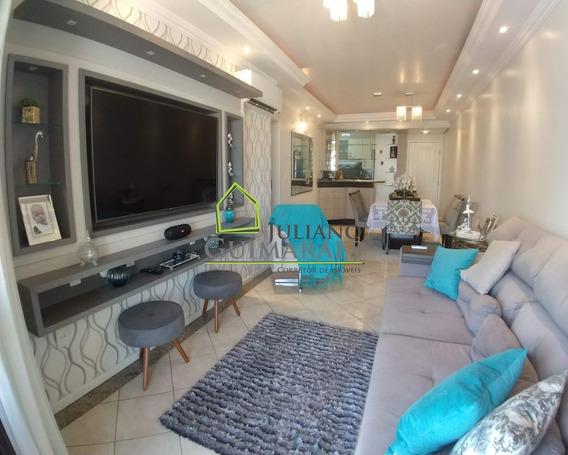 Lindo Apartamento 3 Dorm. Muito Bem Localizado No Kobrasol, Á Venda Em São José, Residencial - Ap00553 - 34788734